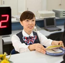 三菱銀行 窓口
